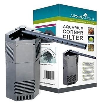 All Pond Solutions - Bomba de Filtro de Esquina de Pecera Interna de 650l/h: Amazon.es: Hogar