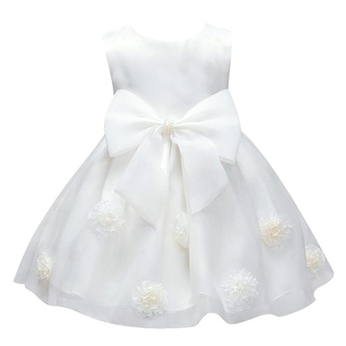 Amazon.com: Chinatera Little Girls Flower Formal Party Wedding Dress ...