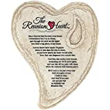 Garden Stone Look Heart Wall Plaque - The Reunion Heart