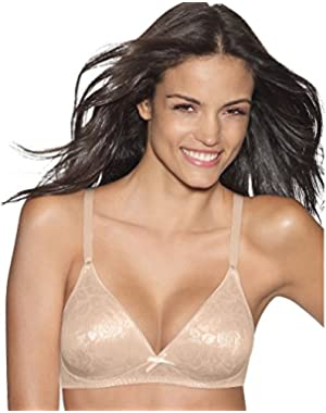 Hanes Lightly Lined Seamless Soft Cup, 38B-Light Beige
