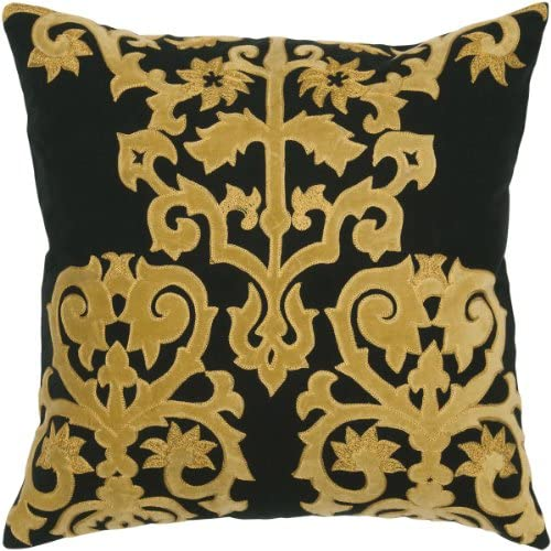 Rizzy Home TR4024 Decorative Pillow, 18 X18