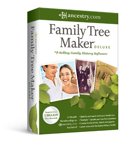 Family Tree Maker Deluxe [OLD VERSION] (Windows 7 Family)