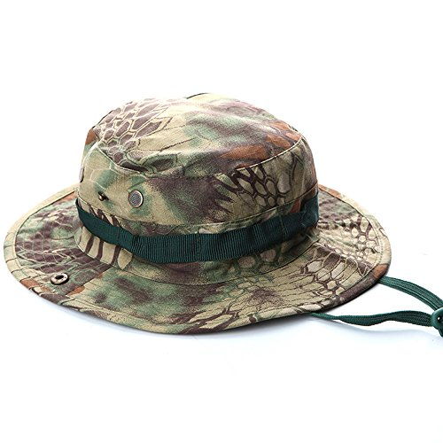 f33e3b6ddc8 hunting fishing camping jungle outdoor camouflage bucket hat. ROUTESUN Outdoor  Boonie Sun Hat