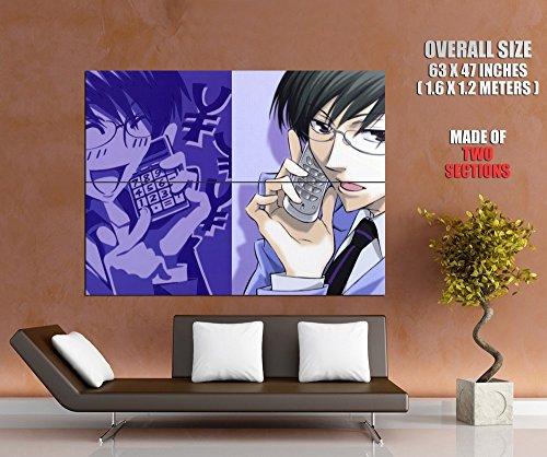 Ouran High School Host Club Kyoya Ootori Anime Manga Art Huge Giant Wall Print