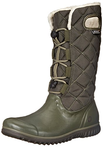 ce Tall Waterproof Insulated Boot, Dark Green,9.5 M US (Waterproof Tall Lace)