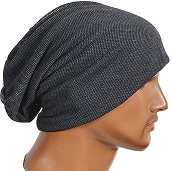 449a5ee21eb95 FORBUSITE Men Women Basic Slouch Thin Beanie Skull Cap for Summer B301