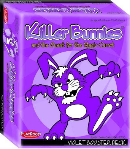 Killer Bunnies Violet Booster (Snap Expansion Card)