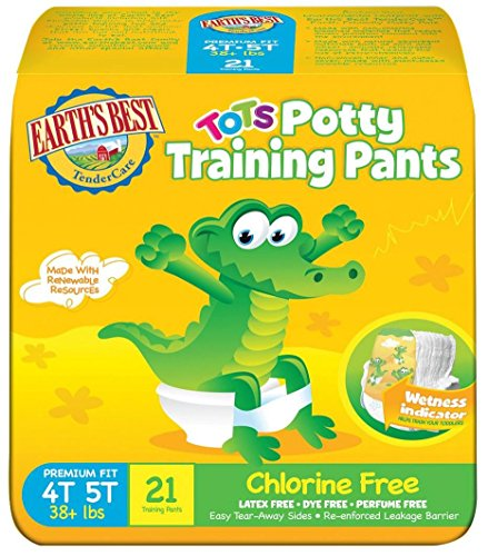 Earth's Best Training Pants - 4T-5T - 84 ct