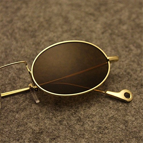 Sol Sol Cenizas Negras Gafas Coreana Personalidad Oval Ola negro Fresno De LXKMTYJ Retro Gafas De Pequeño qARHpEa