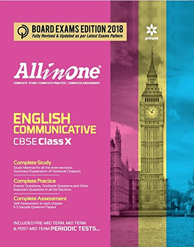 All in One ENGLISH Communicative: Based on CBSE Publication Books- Main Course Book; Literature Reader and Workbook for Class 10