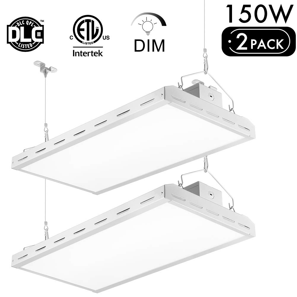 Lightdot 2 Pack LED High Bay Shop Light
