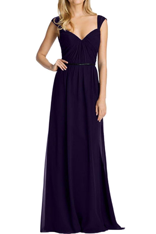 Prom Style A-linie Chiffon Abendkleider Ballkleider lang ...
