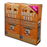 Carnosine Eye Drops 2 boxes (4 x 5ml bottles) - Ethos Bright Eyes™ NAC Eye Drops for Pets as Seen on UK National TV with Amazing Results! NAC n acetyl carnosine eye drops - Protect Your Pet's Vision with the Very Best Eye Care Available...