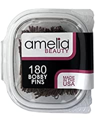 180 Bobby Pins in a Recloseable Container (Bronze)