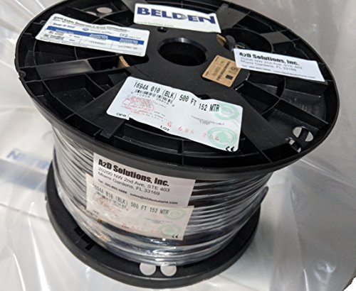 500-ft Spool Belden 1694A HD/SDI 18AWG RG6 Serial Digital Coaxial Cable - BLACK by  (Image #2)