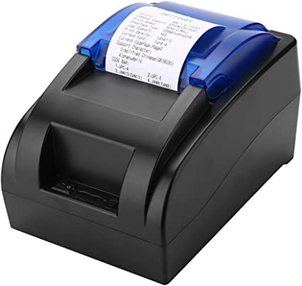 Vbestlife Portátil Térmica Recibo Impresora Bluetooth Impresora ...