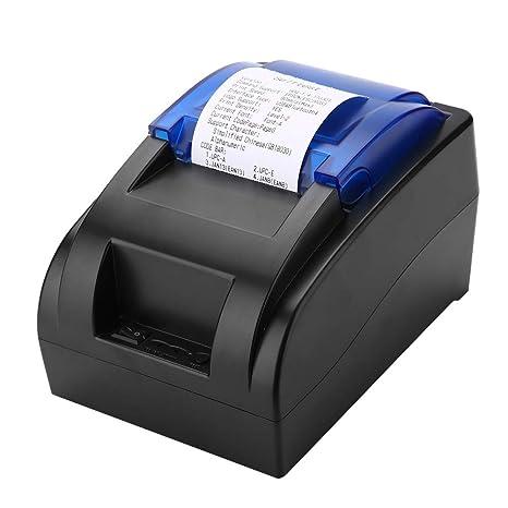 1407a657db Stampante Portatile con Stampante Termica per ricevute 58mm Mini USB +  Bluetooth con Stampa ad Alta