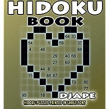 Hidoku book: Hidoku puzzles printed in large font