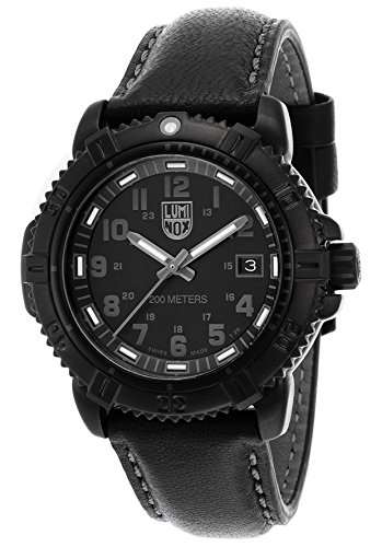 Luminox 7251.BO Women's Modern Mariner Black Dial And Genuine Leather Strap