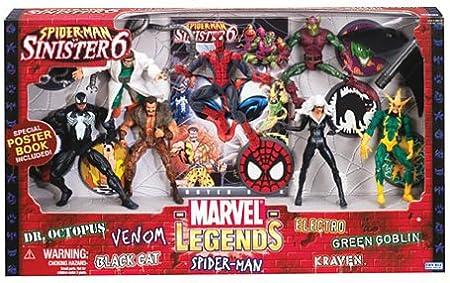 Marvel Legends Action Figure Boxed Set SpiderMan vs. The Sinister ...