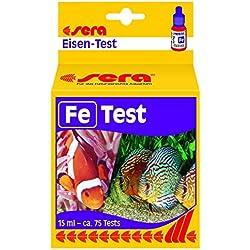 sera iron-Test (Fe) 15 ml, 0.5 fl.oz. Aquarium Test Kits