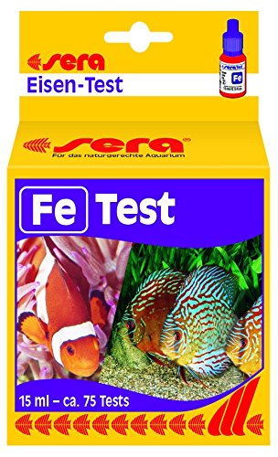 sera iron-Test (Fe) 15 ml, 0.5 fl.oz. Aquarium Test Kits