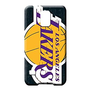 samsung galaxy s5 Durability Phone trendy mobile phone carrying skins los angeles lakers nba basketball