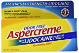 Aspercreme Pain Relieving Creme With Lidocaine, 4.7 Ounce, Pain...