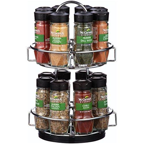 McCormick Gourmet Chrome Spice Rack