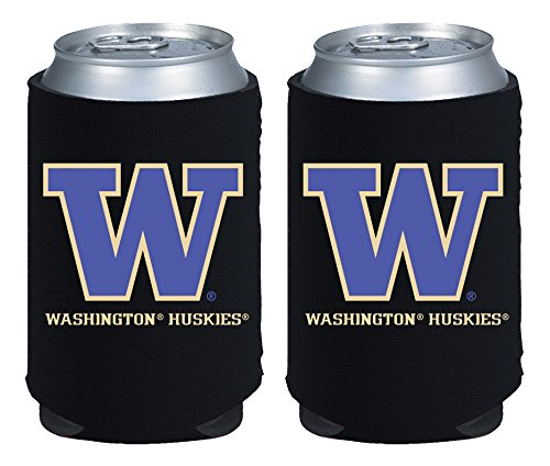 Washington Huskies Tailgate Cooler (NCAA Washington Huskies Magnetic Kolder Kaddy, 2-Pack, Black)
