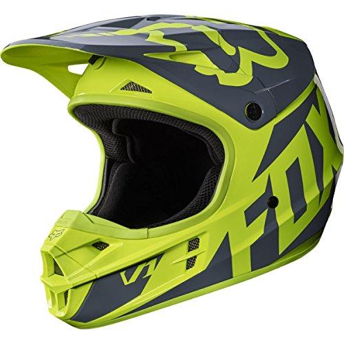 2017-Fox-Racing-V1-Race-Helmet-Yellow-XS