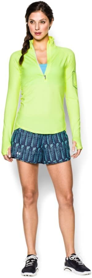 Under Armour Womens Print Perfect Pace Shorts