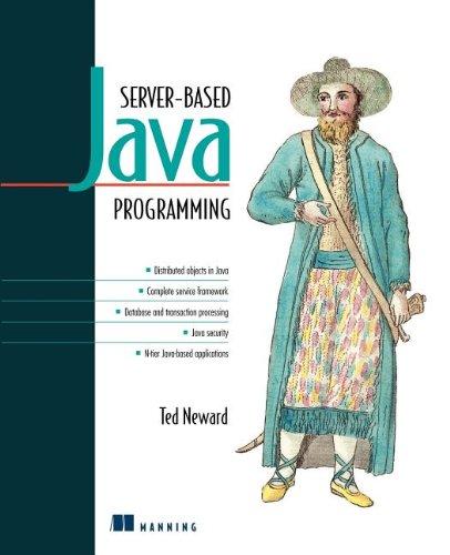Server-Based Java Programming (Java Server Side Programming compare prices)