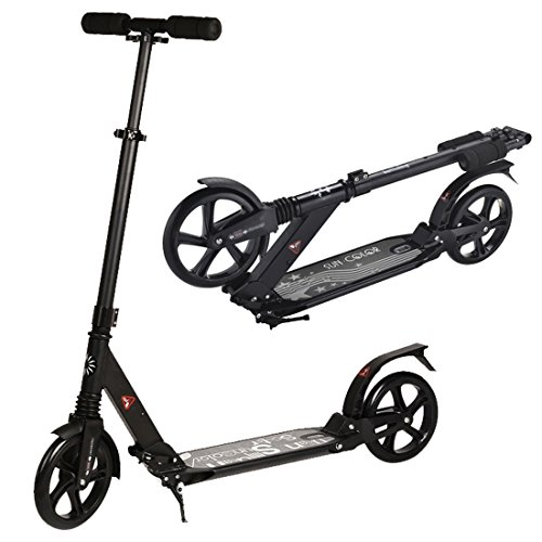Urban 7xl Deluxe Foldable& Adjustable Teen and Adult Kick Scooter with Double...
