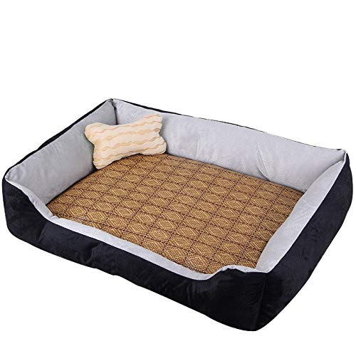 7055cm (within 25 kg) Pet Bed Kennel Dogbed Cave Cashmere Mat Sleeping Cushion Cooling Washable Soft Available Warm Litter House Outdoor Hut Pads Cotton Large Thatched Shelter Crate Anti-Mold Supplies Medium Indoor Suprem