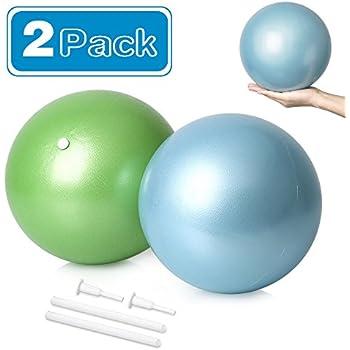 Amazon.com: DGCUS 2 MINI pelotas de ejercicios para yoga y ...