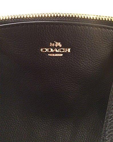Coach Pebble Leather Mini Kelsey Satchel Crossbody Handbag