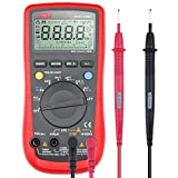 etekcity msr-u1000 auto-ranging digital multimeter, VOLT AMP OHM capacitance meter, red