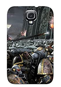 Graceyou Anti-scratch And Shatterproof Warhammer 40k Space Marines Science Fiction Phone Case For Galaxy S4/ High Quality Tpu Case