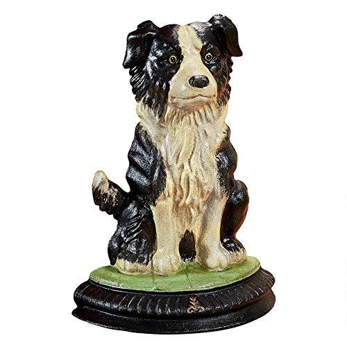 Design Toscano Border Collie Dog Doorstop Statue