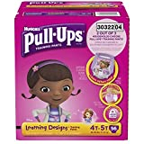 Health & Personal Care : Pull-Ups Training Pants with Learning Designs for Girls, 4T-5T, 56 Count (Packaging May Vary) by Pull-Ups