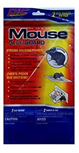 Ims Mouse and Rat Glue Traps, for Apartments, Homes, Factories, Mobile Homes, Boats, Etc. 2 Glue Traps