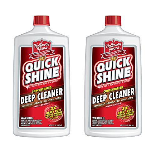 Quick Shine Concentrated Deep Cleaner; 27 oz. – 2 Pack