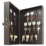 SteelMaster - Hook-Style Key Cabinet, 28-Key, Steel, Black, 7-3/4''w x 3-1/4''d x 11-1/2''h 201202804 (DMi EA