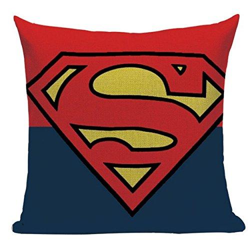 Lil Pepper Superman Symbol SH1 Pillow Cover Throw Decorative Sofa Home Superhero Man of Steel Clark -