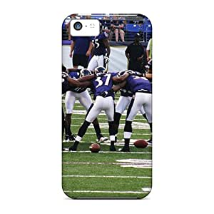 Iphone 5c Case Slim [ultra Fit] Baltimore Ravens Protective Case Cover