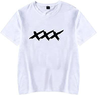 Unisex Xxxtentacion Camisetas Algodón Manga Corta Deportes Cozy ...