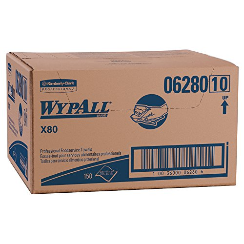 wypall x80 foodservice towels 06280 extended use wipers