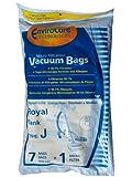 7 Royal Tank Type J Allergy Vacuum Bags + 1 Filter, Dirt Devil, Metal Tanks, Pony Tank Vacuum Cleaners, 3-040447-001, 401, 666, 501, 4150, 4250,4100-4600