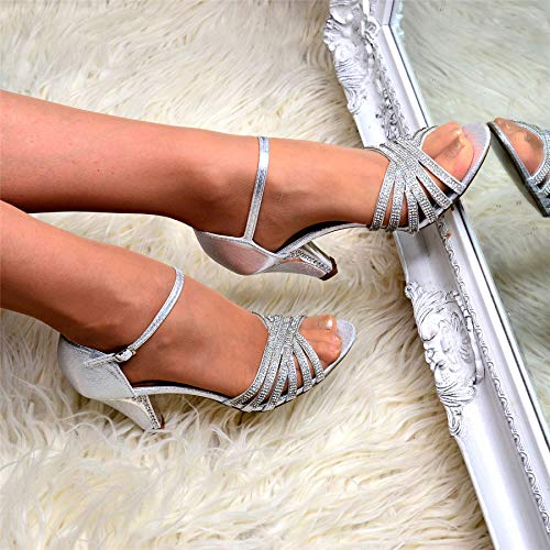 Weheartshoes Donna Sandali Weheartshoes Silver Sandali zqw5xpnB47